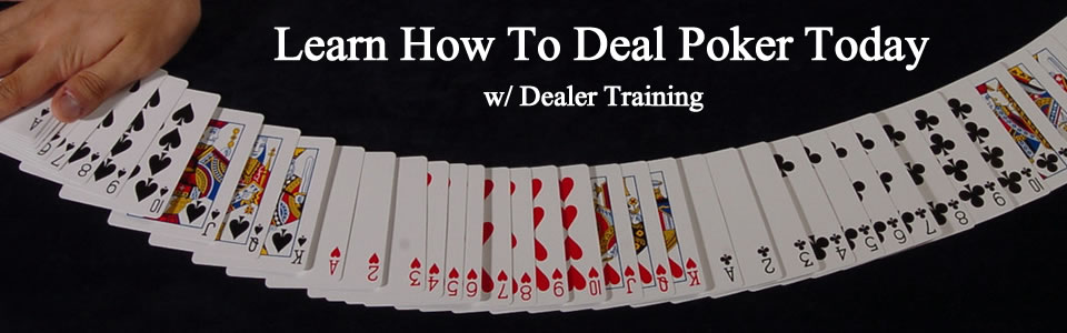 Poker Dealer School
